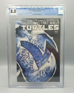 Teenage Mutant Ninja Turtles #2 2nd Print CGC 8.0 Low Census Mirage Studios 1985