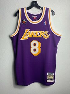 Mens Mitchell & Ness NBA Authentic Jersey All-Star West 1998 Kobe Bryant (XL)