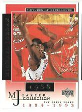 1998 UPPER DECK MICHAEL JORDAN RETRO MJS CAREER COLLECTION #12 BASKETBALL CARD