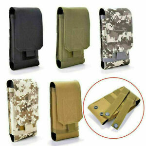 Outdoor Universal Black Army Camo Molle Bag for Mobile Phone Belt Pouch Holster
