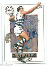 2001 Select Authentic All Australian (AA14) Steven KING Geelong ***