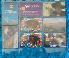 Ladatel pre-owned used Collectible phone cards with chips keepsakes