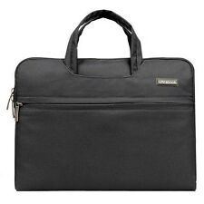 "Laptop Macbook Case 13"" in Black Protective Carry case lots of Storage"