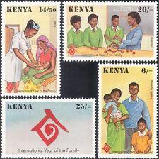 Kenya 1994 IY Family/Health/Welfare/Nurse/Nursing/Education 4v set (n25756)