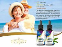 2-Pack New Age 5000 mg Hemp Oil Extract for Pain, Anxiety & Stress Relief