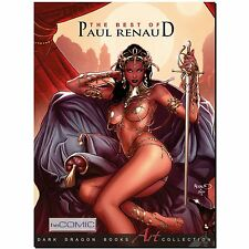 The Best of Paul Renaud ARTBOOK über Dejah Thores Vampirella EROTIK Red Sonya LP