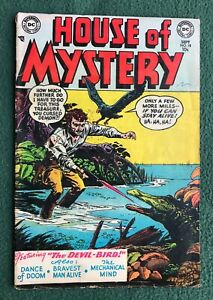 House of Mystery #18 DC Comics Golden Age sci-fi horror fantasy vg/f