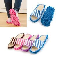 1 Pair Mop Slippers Lazy Quick House Floor Polishing Dusting Cleaning Foot Shoes