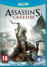 Assassin's Creed III 3 Nintendo Wii U PAL UK **FREE UK POSTAGE!!**