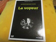"""RARE! DVD DIGIPACK """"LE VOYEUR"""" de Michael POWELL / serie noire"""