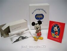 SWAROVSKI DISNEY ARRIBAS LE JEWELED MICKEY MOUSE & TITLE PLAQUE BNIB
