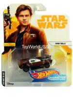 2018 Hot Wheels Star Wars Character Cars Han Solo