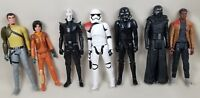STAR WARS LOT, 7 FIGURES