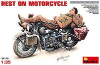 MIN35176 - Miniart 1:35 - Rest on Motorcycle