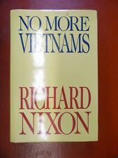 No More Vietnams by Richard M. Nixon (1985 Hardcover) *Signed* W/Jacket & Letter