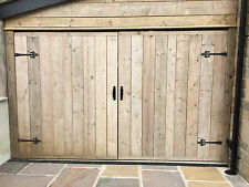 CHUNKY SOLID WOODEN GARAGE DOORS ~ CAN MAKE ANY SIZE ~