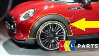 MINI NEW GENUINE CLUBMAN F54 FRONT WHEEL ARCH EXTENSION LEFT N/S 7348905