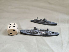 Vintage 1940s Tootsietoy Metal Diecast Ships & Wood Dice Lot Monopoly Games