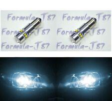 LED Light 50W BA9s White 6000K Two Bulbs Parking Backup Marker Turn Signal