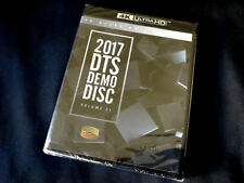 New DTS X,HD-MA 7.1 Demo 21 Genuine Blu Ray/4K Ultra HD/UHD  CES 2017 2 Disc Set