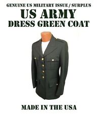COAT MEN'S US ARMY GREEN AG-489 SERVICE DRESS UNIFORM JACKET CHOOSE SIZE