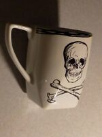 222 Fifth SKULL Coffee MUG Fine China Same Day SAFE Shipping