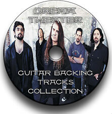 78 DREAM THEATER STYLE MP3 ROCK GUITAR BACKING TRACKS COLLECTION JAM TRACKS