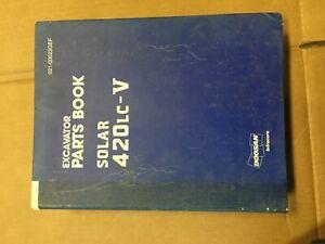 Doosan Solar 420LC-V Parts Book