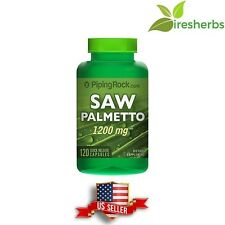 SAW PALMETTO 1200MG MALE PROSTATE URINARY ANTIOXIDANT POTENT SUPPLEMENT 120 CAPS