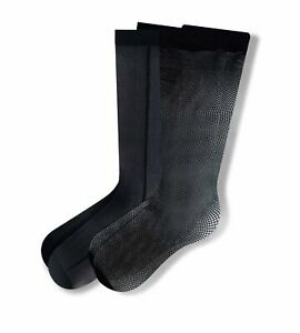January Jones Fancy Sheer Knee High Sock 2 Pack