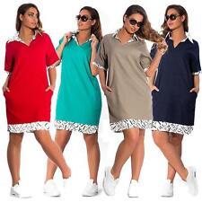 Unbranded Cotton Short Sleeve Dresses Midi
