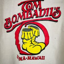 Women Tom Bombadil's Kona Hawaii T-Shirt Single Stitch Hanes Beefy T Made Usa M