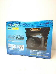 DiCAPac WP-S3 100% Waterproof for Mirrorless Cameras 16ft Used Free Shipping
