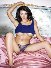 Alice Goodwin Blue Lingerie 8x10 Picture Celebrity Print