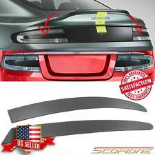 Scopione MATTE Carbon Fiber Tail Light Inserts for Aston Martin 05-19 Vantage DB