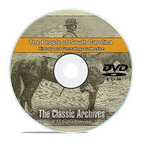 South Carolina SC, People Cities Towns, History & Genealogy 207 Books DVD CD B15