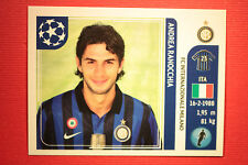 PANINI CHAMPIONS LEAGUE 2011/12 N 76 RANOCCHIA INTER WITH BLACK BACK MINT!!