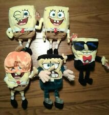 Ty SpongeBob SquarePants Beanie Babies Set of (5)