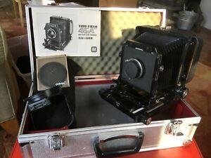 TOYO FIELD 45 4x5 Large Format Camera Schneider-Kreuznach Xenar 135 4.7 Lens