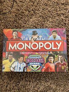 ***MONOPOLY WORLD FOOTBALL STARS NEW & SEALED***