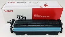 "Genuine Canon 046 Black Toner Cartridge  ""New Open Box"""