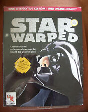 CD-ROM Online Comedy STAR WARPED Spiele Parodie Star Wars Deutsch