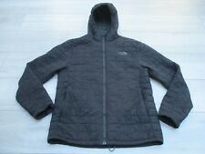 The North Face Mens Thermoball Hoodie Primaloft Jacket M Black Padded Insulated