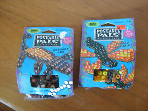 LOT 2 new CRAFT KITS for KIDS Poseable Palsbeaded DOG & BUTTERFLIES