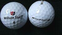 "10 WILSON STAFF - ""DX3 SSP"" - ""SOFT SPIN"" - Golf Balls - ""PEARL/A"" Grades."