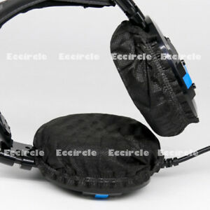 20 Pcs Disposable Sanitary Headphone Headset Earphone Stretch Cover Non Woven