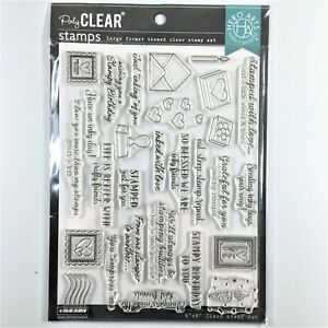 Hero Arts Stamped Just For You Clear Stamp Set Phrases Sayings Messages Greeting