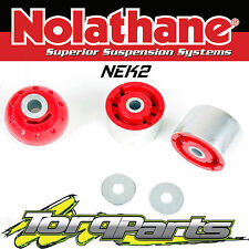 NOLATHANE REAR DIFF BUSHES SUIT FORD BA BF FALCON 02-08 NEK2