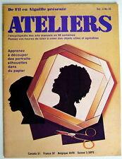 ANCIENNE REVUE ATELIERS, 1er TRIMESTRE DE 1976, VOLUME 3, No.33