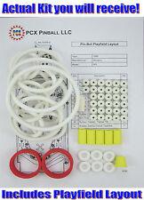 1986 Williams Pin-Bot Pinball Machine Rubber Ring Kit - aka Pinbot